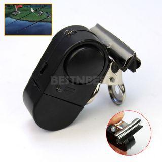 Mini Electronic Carp Fishing Fish Rod Bite Sound Buzzer Alarm LED Light Alert
