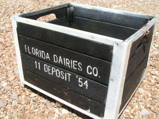 Forida Dairies Dairy Milk Garden Crate Badsmell