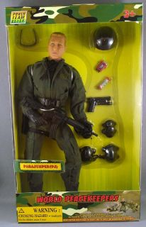 "World Peacekeeper Power Team Elite 1 6th Scale 12"" Parajumper Action Figure"