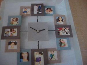 Hanging Picture Frame Wall Clock