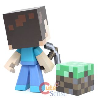 Minecraft Steve Video Game Vinyl Action Figure