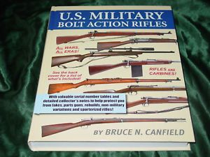 U s Military Bolt Action Rifles Book 1903 Springfield Krag Mosin Nagant Enfield