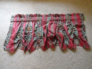 """2 French Country Window Treatment Valance Balloon Shade Curtain 102"""" x 23"""""""
