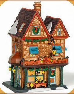 Wellbourn Bros Lanterns New Department Dept 56 Dickens Village D56 DV
