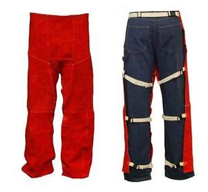 New Stanco Hi Quality Welders Leather Chaps L2505 Cowboy Style