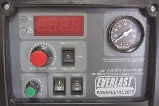 Power Ultra 205P IGBT Based Inverter TIG Stick Welder Plasma Cutter