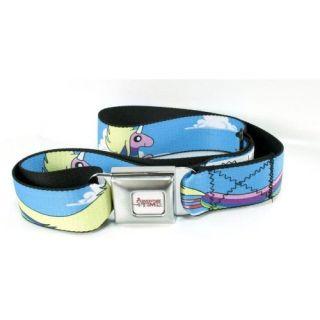 Adventure Time Lady Rainicorn Flying Seat Belt Buckle Belt