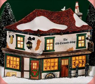 Old Curiosity Shop 2000 New Department Dept 56 Dickens Village D56 DV