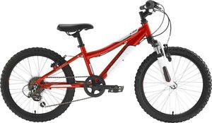 "New Adventure 200 Boys 20"" Alloy Mountain Bike Bicycle 90 Built Pump RP£190"