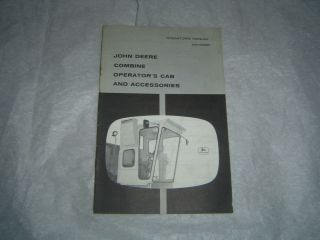 John Deere Combine Cab Accessories Manual Air Conditioning Heater Unit Fan