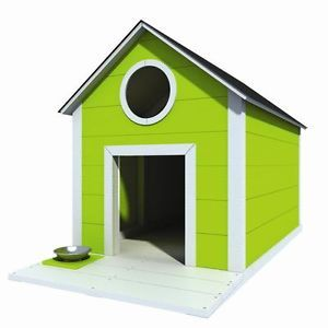 "48"" x 60"" Dog House Plans Gable Roof Pet Size Up to 150 lbs Large Dog 01"