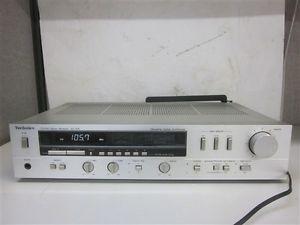 Technics SA 206 Quartz Digital Synthesizer FM Am Stereo Receiver w Antenna