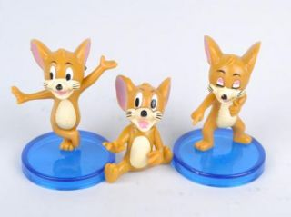 Tom and Jerry Action Figures Cat Mouse Dog Animals Toy 9pcs New