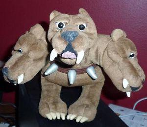 Harry Potter Fluffy Plush Soft Toy Doll 3 Three Headed Dog 5 On