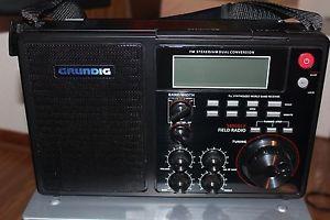 Grundig S450DLX Deluxe Am FM Shortwave Radio Black on PopScreen