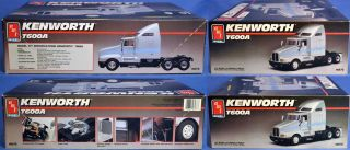 Kenworth T600A Tractor Trailer Truck AMT Ertl 1 25 Scale 1990 Complete