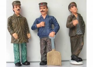 10 Different Style Hand Painted Figures Märklin 1 32 Scale Garden Rail New