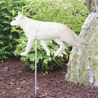 German Shepherd Dog Figure Garden Stake Home Yard Garden Products Gifts