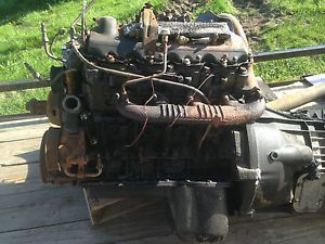 2007 Ford F550 Superduty 6 0 Diesel Motor Engine Assembly Fire Damage Vin 8th P