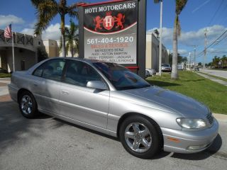 2001 Cadillac Catera 3 0L 4SPD V6 Clean History Florida Car Low Miles