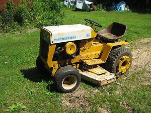 cub cadet 122 garden tractor kohler 12 hp engine