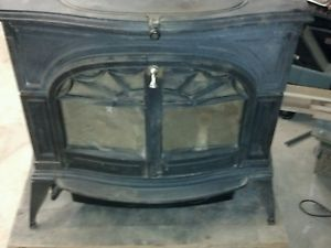 Defiant Wood Stove with Glass View Doors