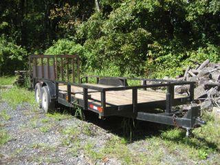 John Deere 1070 Tractor 440 Loader Yanmar Diesel Backhoe Auger Mower Dethatcher