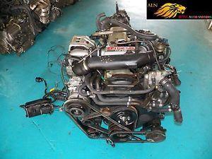 Toyota Hilux 2 0L Turbo Diesel Engine AWD Automatic Trans Wiring ECU JDM 2LTE 2L