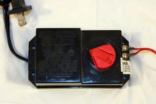 Electric Transformer for Bachmann White Christmas Express HO Scale Train Set