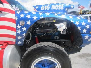 1999 Ford Monster Truck Custom Built 911 Tribut Show Truck Big Block Hot Rod
