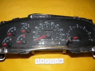 99 00 01 Ford F350SD F250 F550 Speedometer Instrument Cluster Dash Panel 156 575