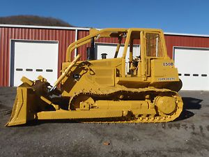 1987 John Deere 850B Crawler Dozer Winch Screens Limb Risers New JD Engine Nice