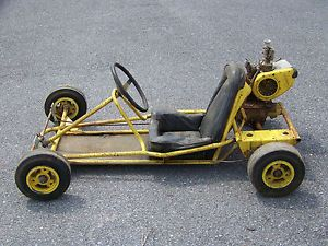 Vintage McCulloch Race Kart Complete with Engine