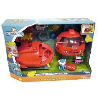 New Boxed Octonauts GUP x Shoot Rescue Mission Vehicle Toy