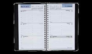 2014 Day Minder Weekly Appointment Book 5 x 8 inches Black G200 00