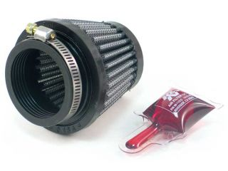 "44mm 1 75"" Inlet K N Cone Universal Air Filter RU 2690"