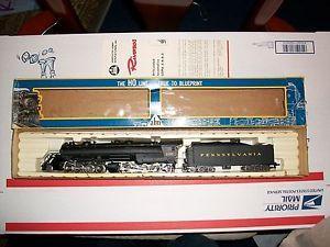 HO Scale AHM Rivarossi PRR 2 8 8 2 Mallet Steam Engine NIB