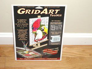 Grid Art Tool Kit Murals Sketch Drawing Creative Artistic Grid Table Lay Out Set