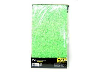 """Ista PO4 Minus Media Filter Sponge 18x10"""" Pad Remove Phosphate Aquarium Foam"""