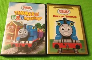 Thomas Friends DVD Toy Workshop The Best of Thomas Tank Engine Train Lot