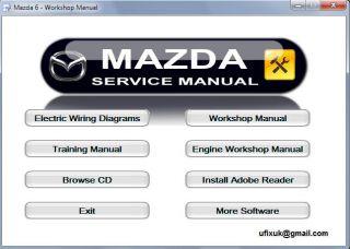 Mazda 6 Workshop Service Repair Manual 2002 2008 Interactive Disc Atenza