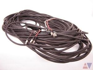 Clark Wire Cable 300ft XLR BNC Audio Video Snake Cable