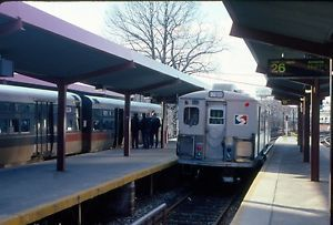 35mm Orig Slide SEPTA Red Arrow Div 602 Budd 69th St Term Upper Darby PA 1991