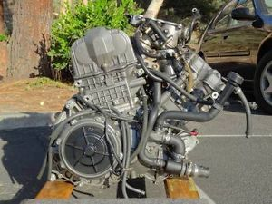 Aprilia Futura RST 1000 Motor Engine Rotax V990 Caponord Motorcycle Running GR8