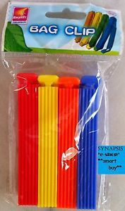 Kitchen Aid Reusable Food Storage Sandwich Bag Sealing Clips Clippets Sealers
