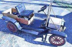 Bird Engineering Vintage Dr Pepper Model T Parade Go Kart Kart