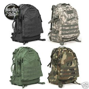 New Military Army Backpacks Assault Rucksack School Backpack Digital ACU Camo 40