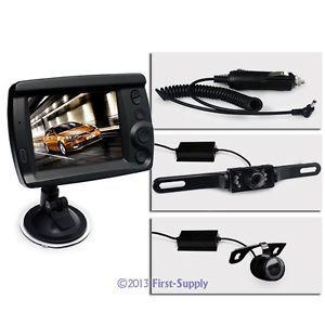 "New Horse Trailer Wireless Reversing Kit 3 5"" Wireless Monitor Backup Camera"