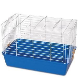 New Classic Blue Hamster Cage Guinea Pig Pen Simple to Clean Pet Tub Family Fun
