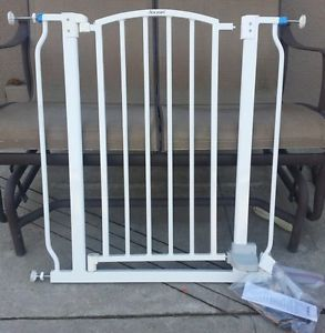Baby Gate with Opening Door